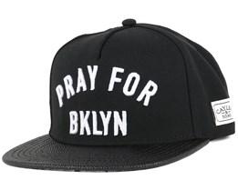 Pray For BKLYN Black Snapback - Cayler & Sons