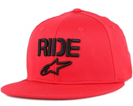 Ride Flat Red Fitted - Alpinestars