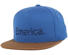 Pure Navy/Brown Snapback - Emerica