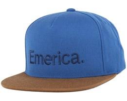 Pure Navy/Brown Snapback - Emerica