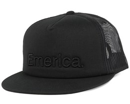 Pure Black Trucker - Emerica