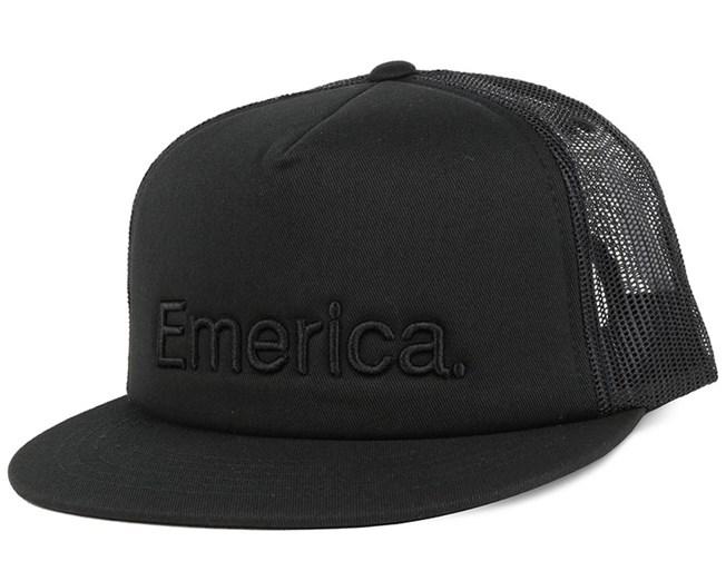 Pure Black Trucker - Emerica