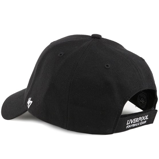 Liverpool Fc Mvp Black Adjustable 47 Brand Cap Hatstore De