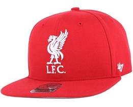Liverpool FC No Shot Captain Red Snapback - 47 Brand