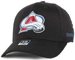 Colorado Avalanche BL Black Flexfit - Reebok