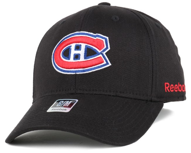 Montreal Canadiens BL Black Flexfit - Reebok