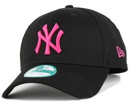NY Yankees Black/Pink 940 Adjustable - New Era