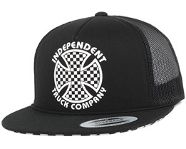 Cross Check Black Snapback - Independent