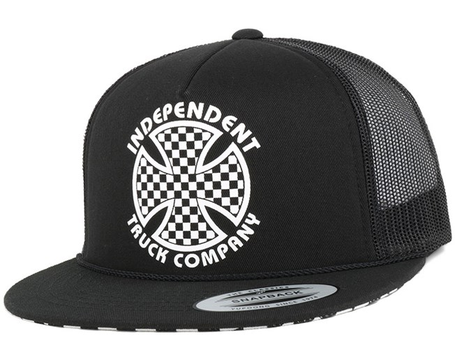 Cross Check Black Snapback - Independet