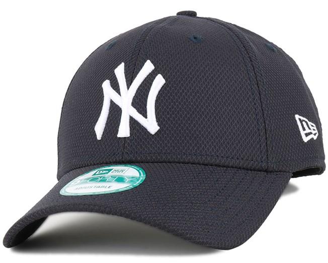 NY Yankees Core Diamond Navy 940 Adjustable - New Era