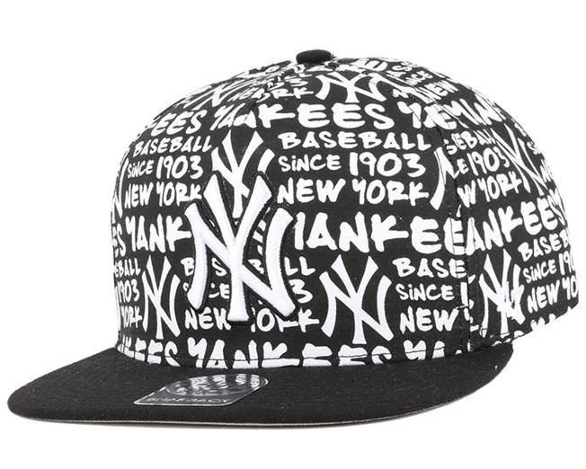 NY Yankees Fat White Snapback - 47 Brand caps  4b74598b88c4e