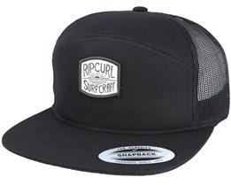 SC Black Trucker Snapback - Rip Curl