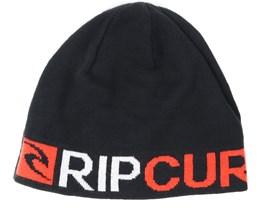 Rip Revo Black Beanie - Rip Curl