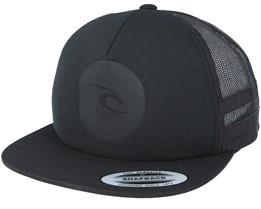 Mono Trucker Black Snapback - Rip Curl