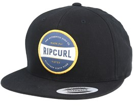Authentic Black Snapback - Rip Curl