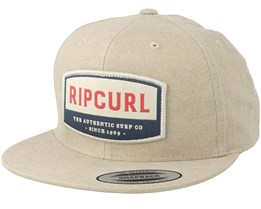 Authentic Peyote Bone Snapback - Rip Curl