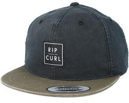 Dude Trucker Black Snapback - Rip Curl