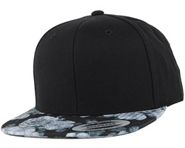 Rose Grey Snapback - Yupoong