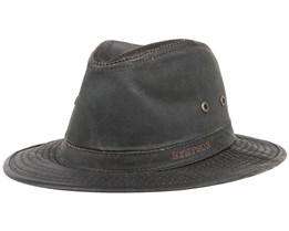 Ava Co/Pe Brown Fedora - Stetson