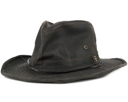 Diaz Co/Pe Brown Fedora - Stetson