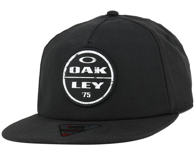 Foundation Jet Black Snapback - Oakley