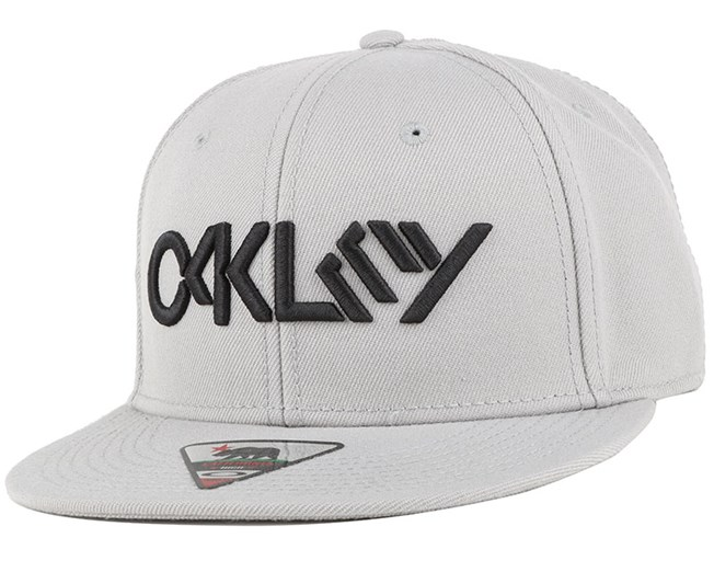 Octane Stone Grey Snapback - Oakley