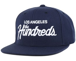 Forever Team Navy Snapback - The Hundreds