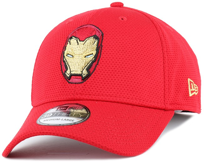 Logotallic Iron Man Red 39Thirty Flexfit - New Era