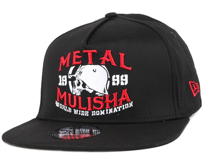 Initiate Black Fitted - Metal Mulisha