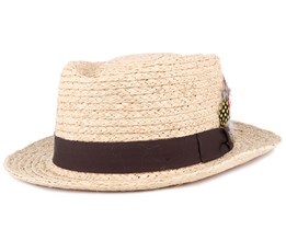 Delta Light Tan Fedora - Brixton