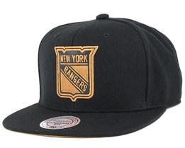 NY Rangers TKO Twist Snapback - Mitchell & Ness