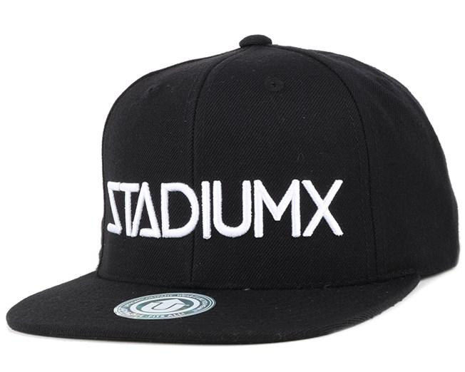StadiumX Black Snapback - Upfront