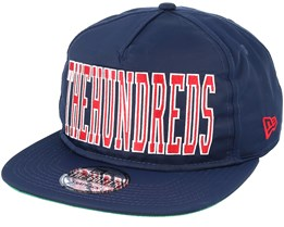 Law Navy Snapback - The Hundreds