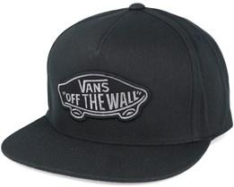 Classic Patch Black Snapback - Vans