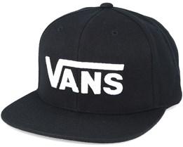 Drop V Black Snapback - Vans