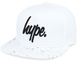 Speckle White/black Snapback - Hype