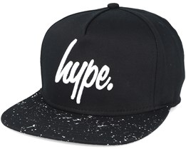 Speckle Black/white Snapback - Hype