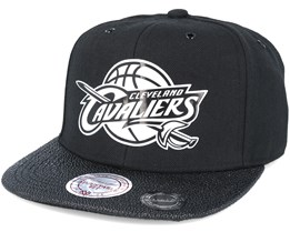 Cleveland Cavaliers Ultimate Black Snapback - Mitchell & Ness