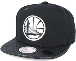 Golden State Warriors Ultimate Black Snapback - Mitchell & Ness