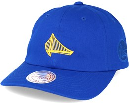 Golden State Warriors Elements Dad Blue Adjustable - Mitchell & Ness