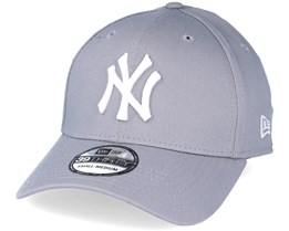 NY Yankees League Basic Grey 39thirty Flexfit - New Era