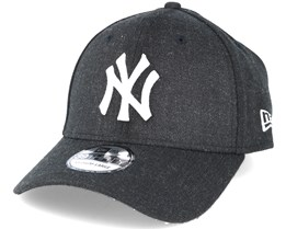 NY Yankees Heather Black 39thirty Flexfit - New Era