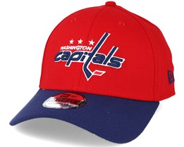 Washington Capitals NHL Essential Red/Blue 39thirty Flexfit - New Era