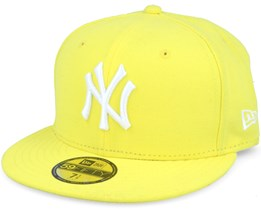 NY Yankees MLB Basic Yellow 59fifty Fitted - New Era