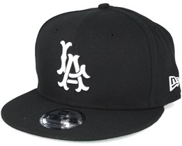 Los Angeles Angels MLB Cooperstown Black Snapback - New Era