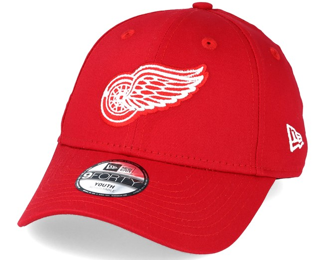 Kids Detroit Red Wings Kids League Basic Red 9forty Adjustable - New ... 80f55cb64c