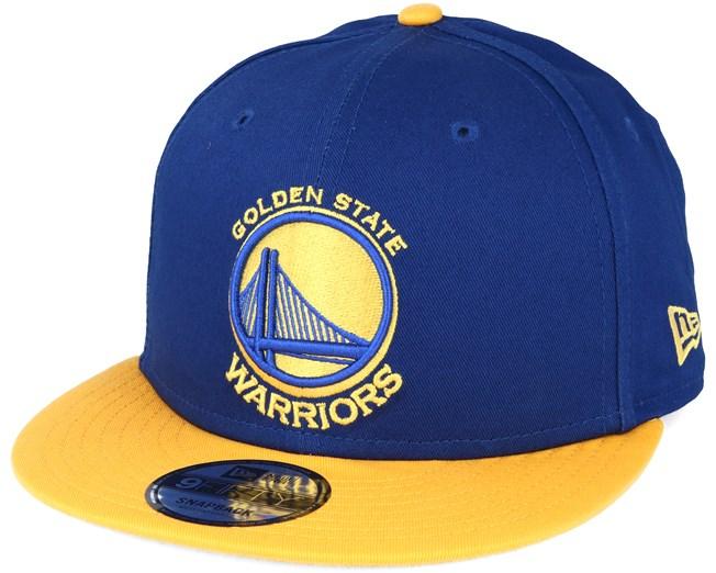 Golden State Warriors NBA Blue 9fifty Snapback - New Era