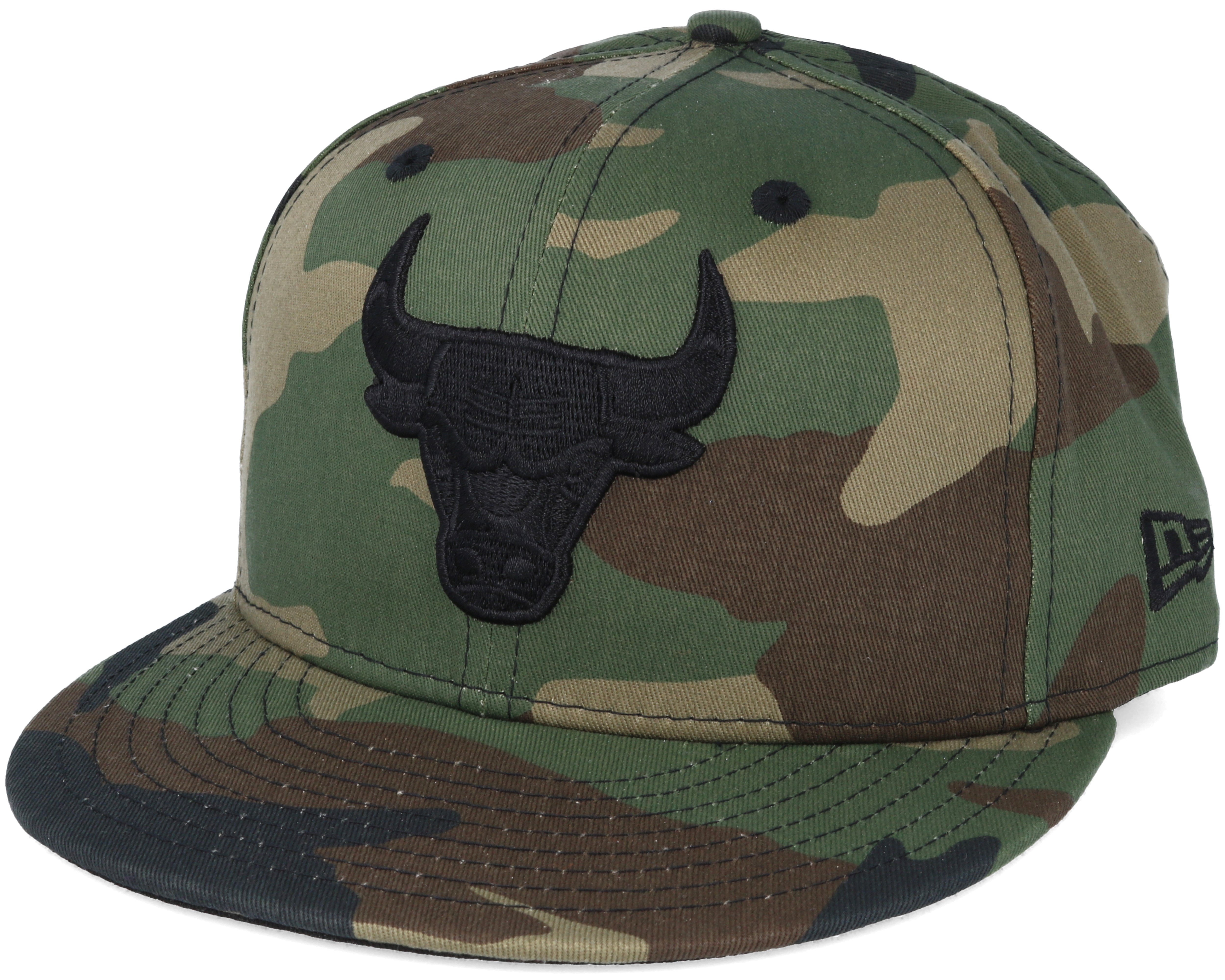 chicago bulls nba camo 59fifty fitted new era caps. Black Bedroom Furniture Sets. Home Design Ideas