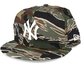 New York Yankees Patchwork Camo Fitted 59Fifty Fitted - New Era