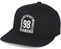 Access Black Snapback  - Diamond